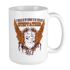 Your New Stepfather Large Mug