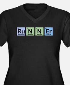 Runner made of Elements Women's Plus Size V-Neck D