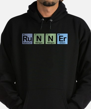 Runner made of Elements Hoodie (dark)