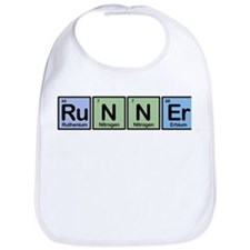 Runner made of Elements Bib