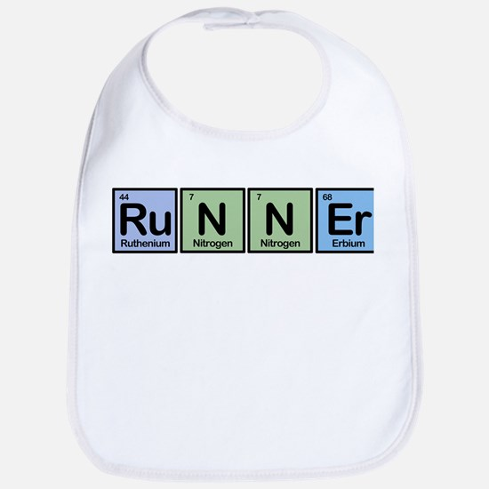 Runner made of Elements Bib