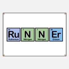 Runner made of Elements Banner