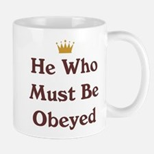 Must Be Obeyed Small Small Mug