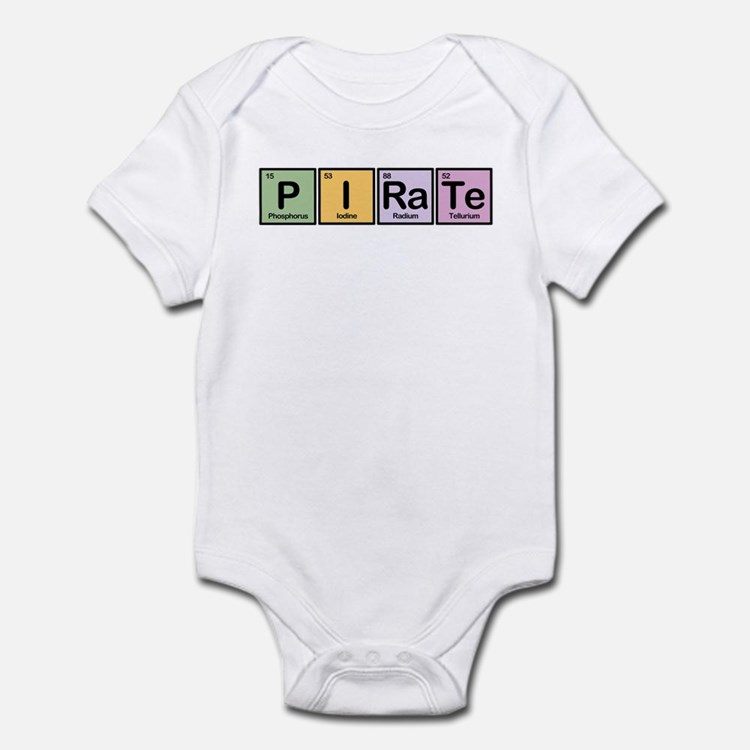 Pirate made of Elements Infant Bodysuit