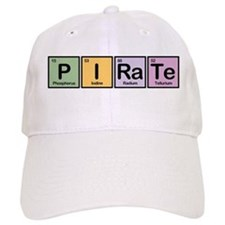 Pirate made of Elements Baseball Baseball Cap