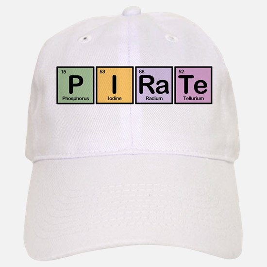 Pirate made of Elements Baseball Baseball Cap