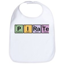 Pirate made of Elements Bib