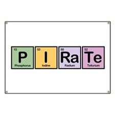 Pirate made of Elements Banner