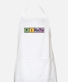 Pirate made of Elements BBQ Apron