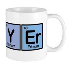 Lawyer made of Elements Small Mug