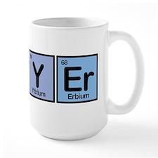 Lawyer made of Elements Coffee Mug