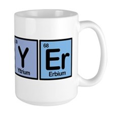 Lawyer made of Elements Mug