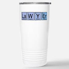 Lawyer made of Elements Travel Mug