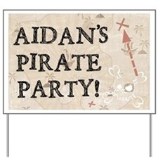 Pirate Party - Yard Sign