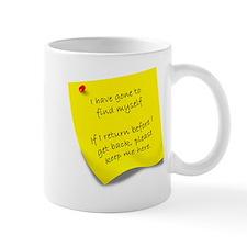 'Gone to Find Myself' Mug