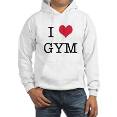 I Heart Gym Hoodie