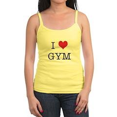 I Heart Gym Jr.Spaghetti Strap