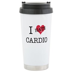 i hate cardio Travel Mug