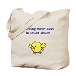 Kids Need Clean Air. Tote Bag