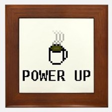 Power Up Framed Tile