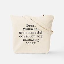 Cute Isiah Tote Bag