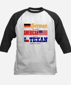 T-Shirt - German-American-Texan.PNG Baseball Jerse