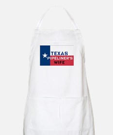 Texas Pipeliner's wife BBQ Apron