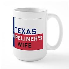 Texas Pipeliner's wife Mug