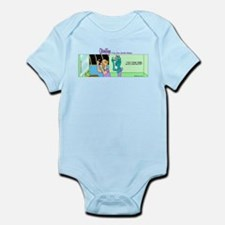 Cute Star trek travel Infant Bodysuit