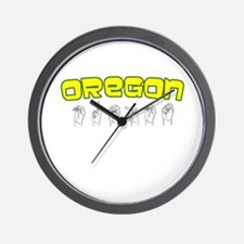 Oregon Design Wall Clock