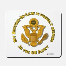 Army Brother-in-Law Gold Mousepad