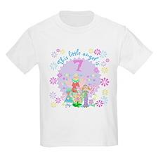 Angel 7th Birthday Kids T-Shirt