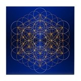 Flower of life Drink Coasters