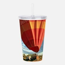 Outback hot air balloo Acrylic Double-wall Tumbler