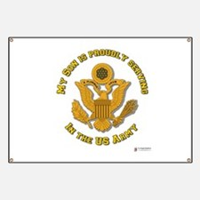 Army Son Gold Banner