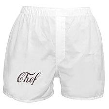 Vintage Chef Boxer Shorts