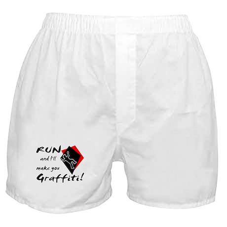 Graffiti Boxer Shorts
