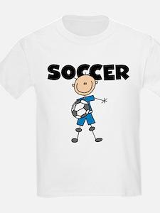 SOCCER Stick Figure T-Shirt