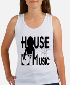 House Music Women's Tank Top