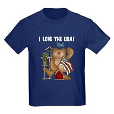 I Love the USA T