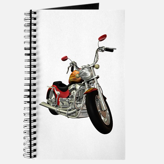 Red Motorcycle Journal