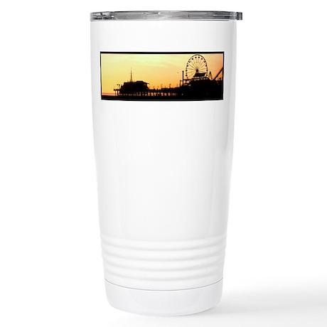 Santa Monica Pier Stainless Steel Travel Mug