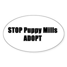 STOP Puppy Mills Decal