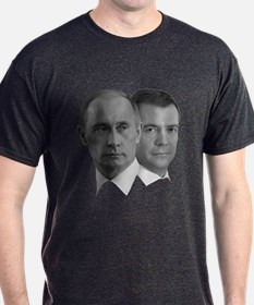 Putin and Medvedev Duality T-Shirt