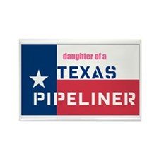 daughter of a pipeliner Rectangle Magnet