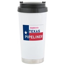 daughter of a pipeliner Travel Mug