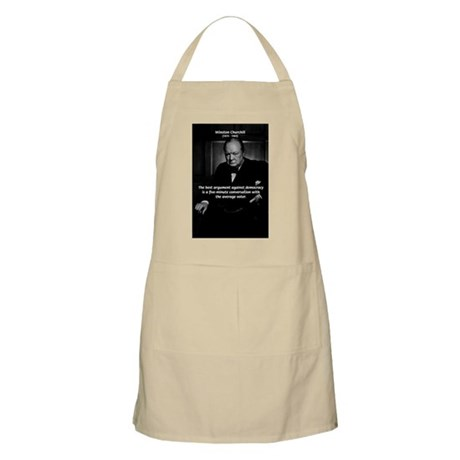 Sir Winston Churchill BBQ Apron
