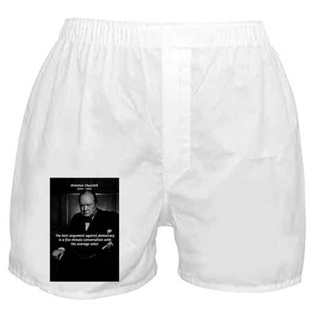 Sir Winston Churchill Boxer Shorts