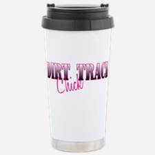 Dirt Track Chick Stainless Steel Travel Mug
