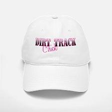 Dirt Track Chick Baseball Baseball Cap